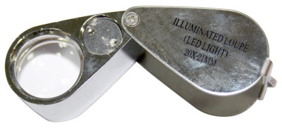 LED Light Source Jewellery Magnifier