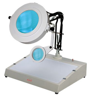 Bench Magnifier (Magnascope) RBM-106