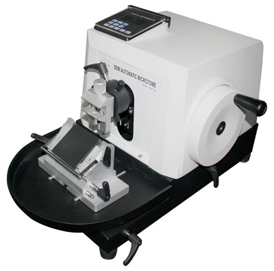 Semi Automatic Rotary Microtome RMT-35