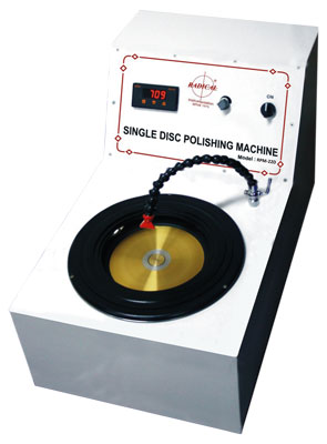 Single Disc Polishing Machine (Digital)