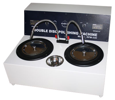 Double Disc Polishing Machine (Digital)