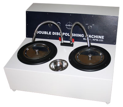 Double Disc Polishing Machine