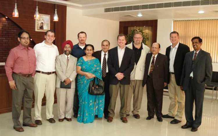 Our Company Directors With USA Associates, During their Official Visit, November  2009