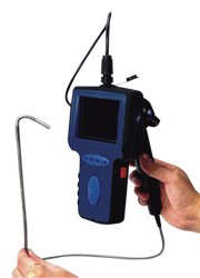 Portable Video Borescope - Quick Video Recording, Quick Snap, Quick Review, AV Out