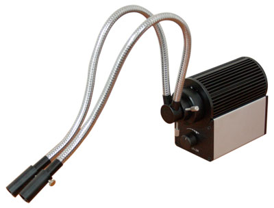 Fibre Optic Illuminator Double/Single Guide